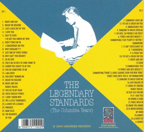 The Legendary Standards (The Columbia Years)