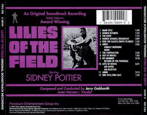 Lilies of the Field [Original Soundtrack]