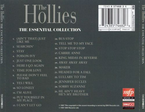 The Hollies Searchin