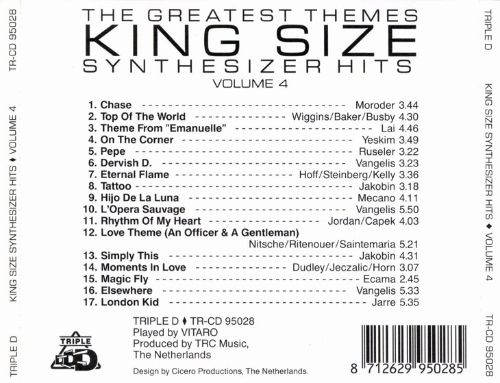 King Size Synthesizer Hits, Vol. 4