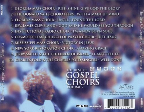 The Best of Gospel Choirs, Vol. 2