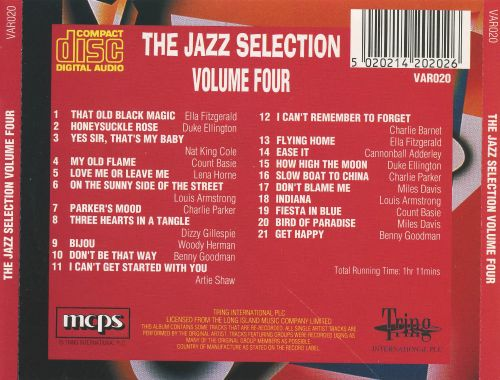 The Jazz Selection, Vol. 4