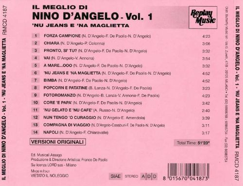 Best of Nino D'Angelo, Vol. 1