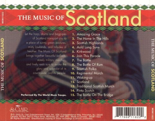 The Music of Scotland [St. Clair]