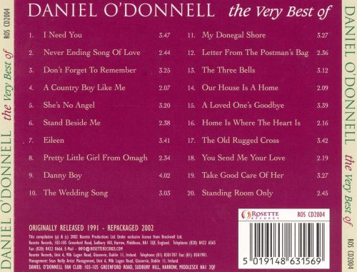 The Very Best of Daniel O'Donnell [DPTV]