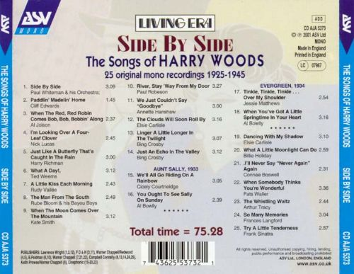 Side by Side: The Songs of Harry Woods