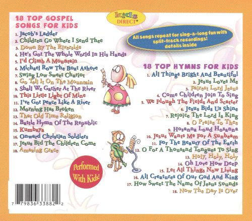 36 Top Gospel Songs and Hymns for Kids