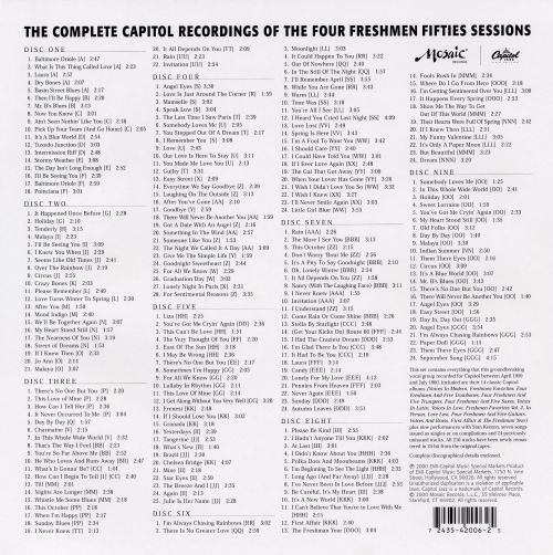 The Complete Capitol Four Freshmen Fifties Sessions