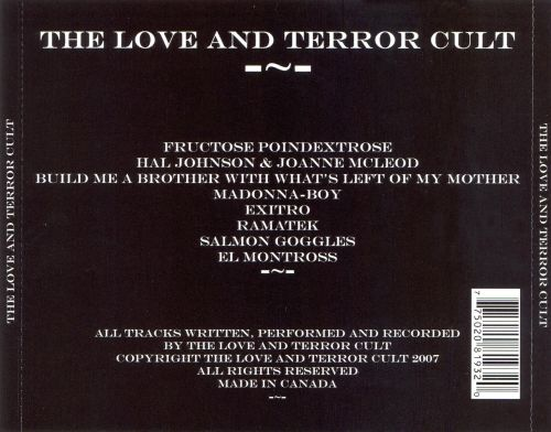 The Love And The Terror Cult