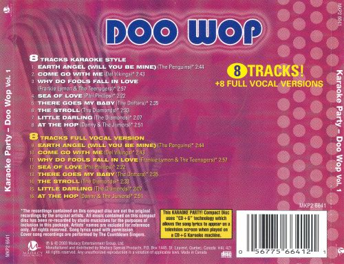 Karaoke Party! Doo Wop, Vol. 1