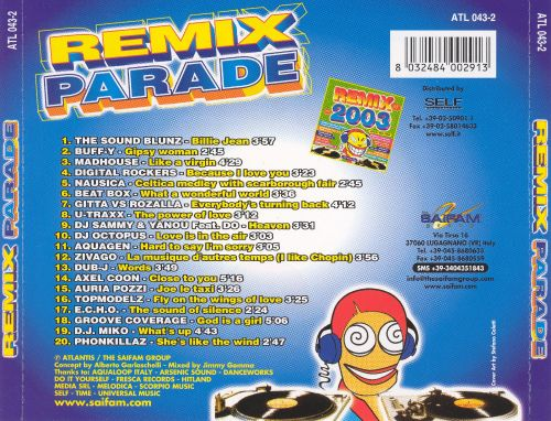 Remix Parade: Mixed by Jimmy Gomma
