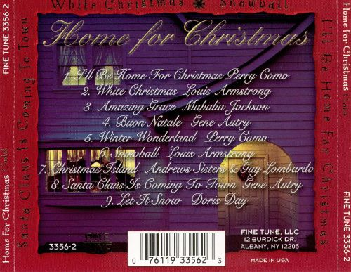 Home for Christmas [Fine Tune]