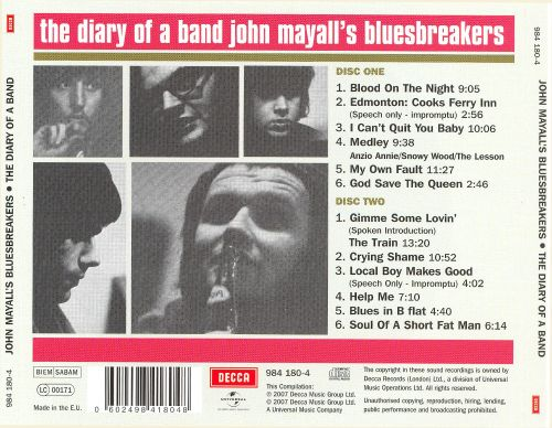 Diary of a Band, Vol. 1 & 2