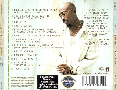 DOWNLOAD ALBUM: 2Pac - Loyal to the Game Zip & Mp3 | HIPHOPDE
