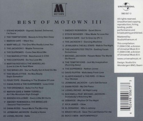 Best of Motown, Vol. 3