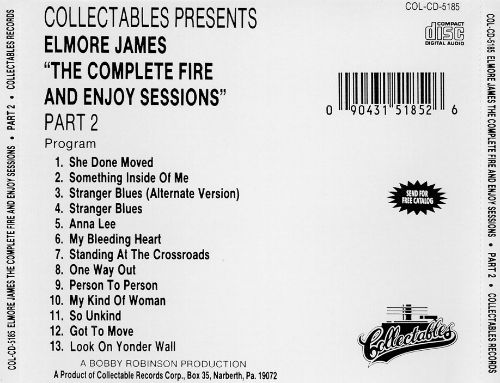 The Complete Fire & Enjoy Sessions, Pt. 2