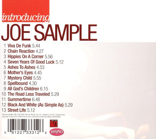 Introducing Joe Sample - Joe Sample | Songs, Reviews, Credits ...