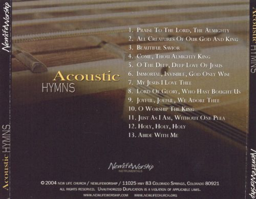 Acoustic Hymns