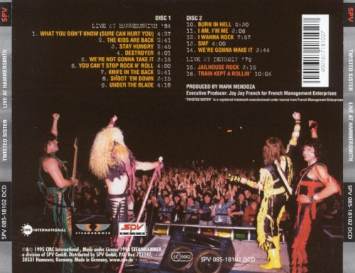 Live at Hammersmith '84