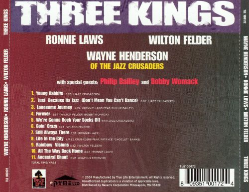 Three Kings: The Legacy Continues, Vol. 1