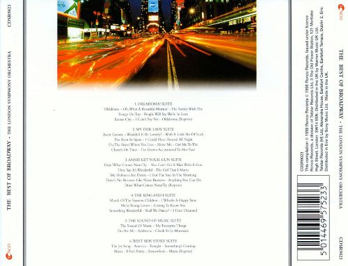The Best of Broadway [Ronco Silver]