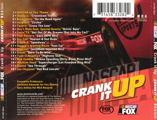 NASCAR on Fox: Crank It Up
