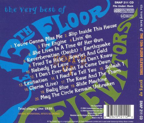 The Very Best of the 13th Floor Elevators: Going Up