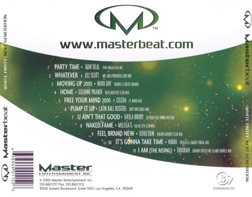 Masterbeat: White Party - The Next Generation