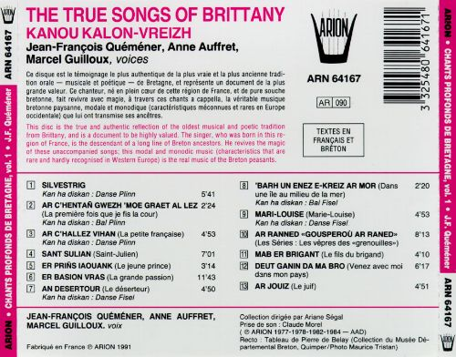 True Songs of Brittany
