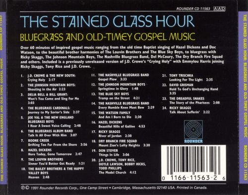 Stained Glass Hour: Bluegrass and Old-Timey Gospel Music