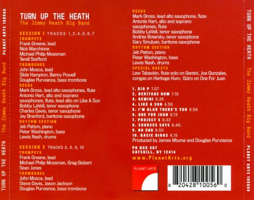 Turn Up the Heath: The Jimmy Heath Big Band