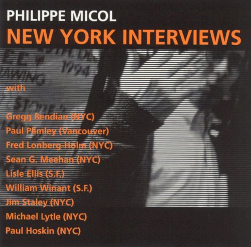 New York Interviews