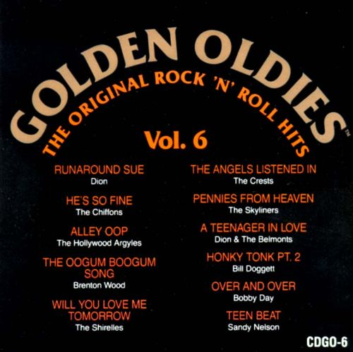 Golden Oldies, Vol. 6 [Original Sound 1989]