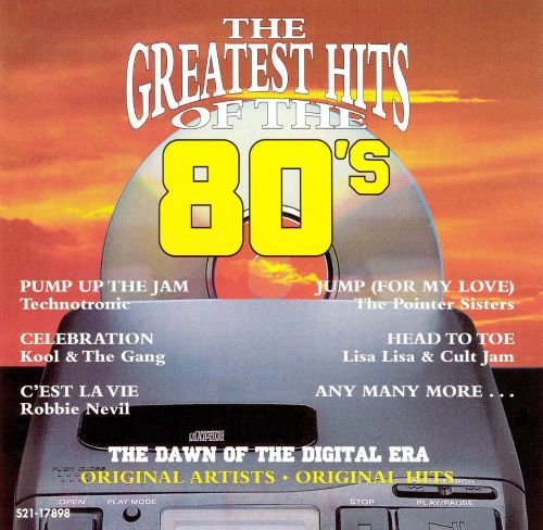 the greatest hits of the  u0026 39 80s  vol  3