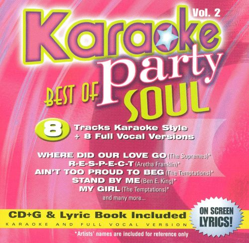Karaoke Party: Best of Soul, Vol. 2