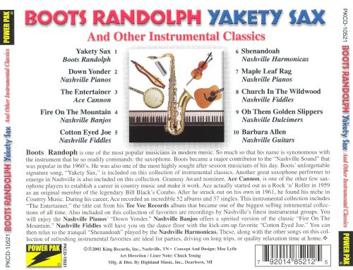 Yakety Sax and Other Instrumental Classics