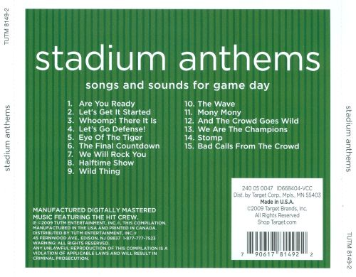 Stadium Anthems: Songs and Sounds for Game Day