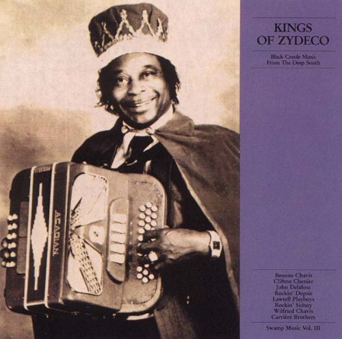 Swamp Music, Vol. 3: Kings of Zydeco/Black Creole Music From the Deep South
