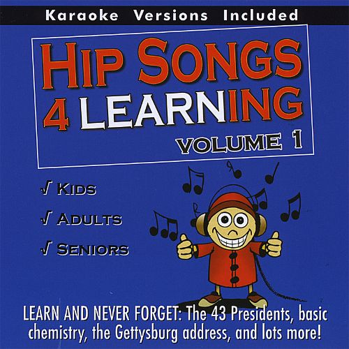 Hip Songs 4 Learning, Vol. 1