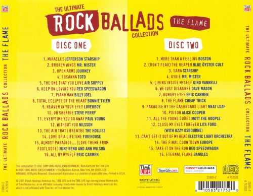 The Ultimate Rock Ballads Collection: The Flame