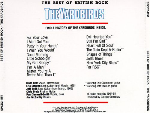 The Best of British Rock