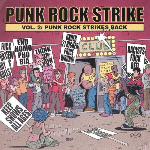 Punk Rock Strike: Punk Rock Strikes Back, Vol. 2