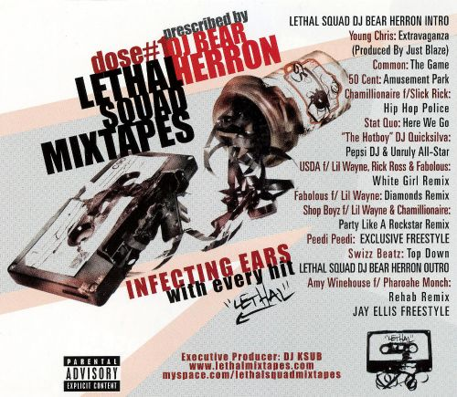 Lethal Squad Mixtapes: Dose #1 - Infecting Ears with Every Hit