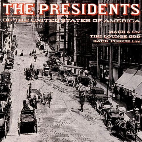 the presidents of the united states of america 3 song bonus cd - Presidents Of The United States Of America