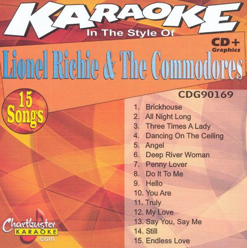 Chartbuster Karaoke: Lionel Richie & The Commodores