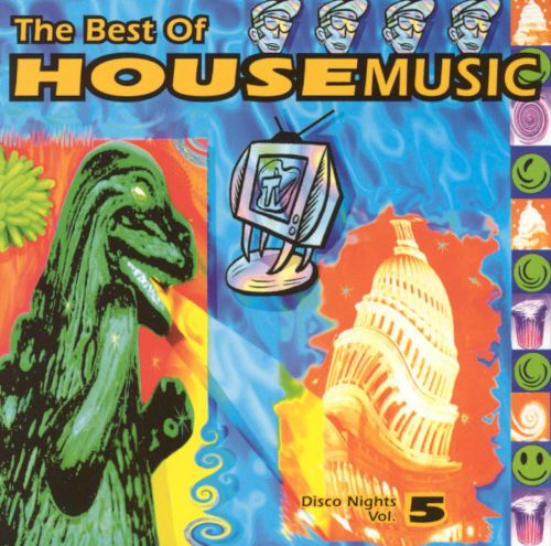 Best of house music disco nights vol 5 various for Best acid house albums