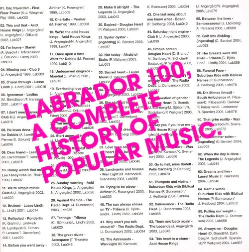 Labrador 100: A Complete History of Popular Music