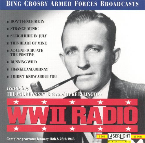 WWII Radio Broadcast January 25, 1945 and January 18, 1945
