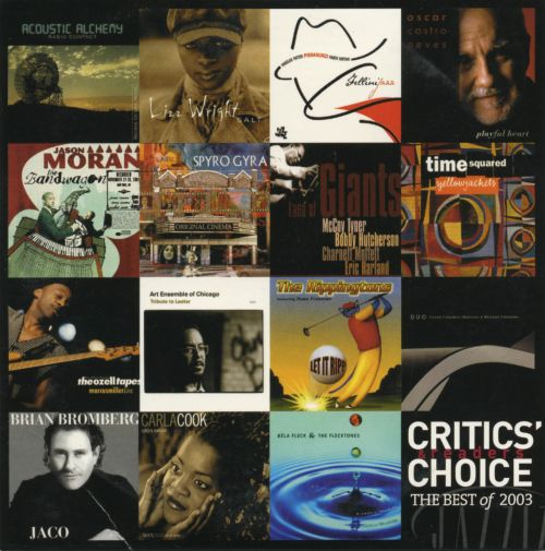 Jazziz: Critic's Choice The Best Of 2003