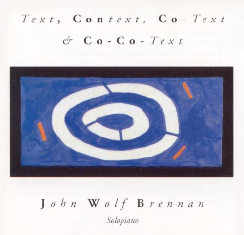 Text, Context, Co-Text & Co-Co-Text